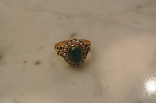 Ring made by Deirdre O'Donnell