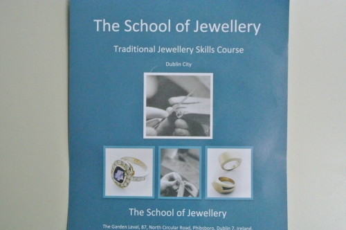 Jewellry schoo flyer - Deirdre O'Donnell