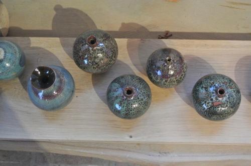 Multicoloured healing pots - Geoffrey Healy