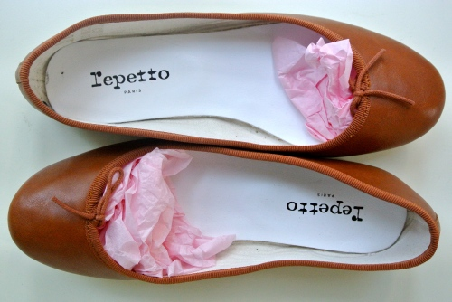 Carmel coloured ballet flats
