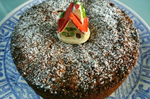 Last minute Christmas cake