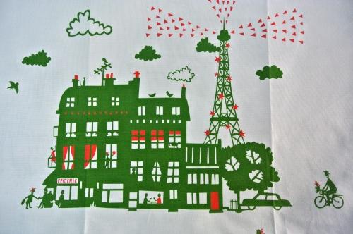 Famaille Sumerbelle tea towel