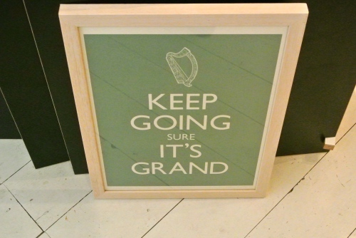 Keep going it's grand poster