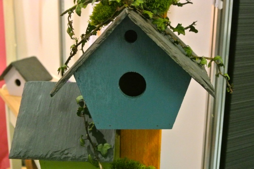 Woodbofin bird house