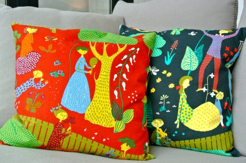Cushions at LW
