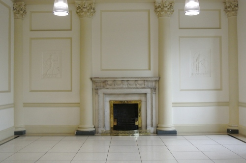 Interior of Hugh Lane Gallery