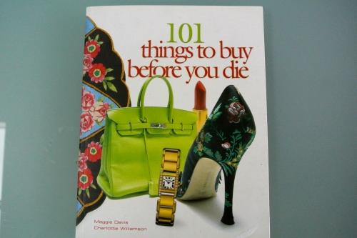 101 things to buy before you die