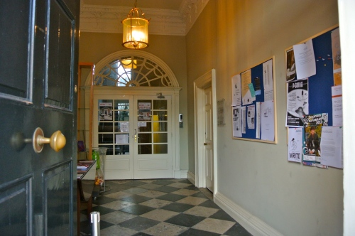 Irish Writers' Centre entrance
