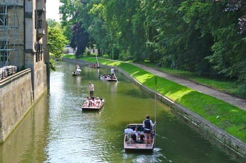 Cambridge, Punting, River Cam