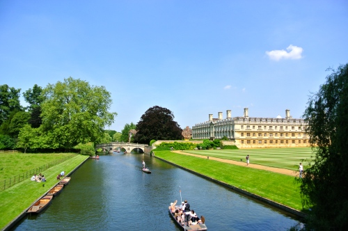 Cambridge, River Cam, Punting