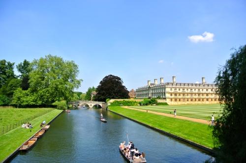 Cambridge, River Cam, Punting