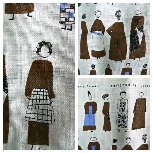 Lucienne Day tea towel