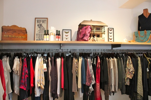 interior of dolls boutique