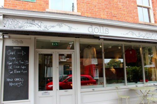 exterior of dolls boutique