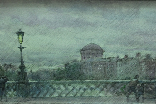 Watercolour by Thomas Ryan RHA