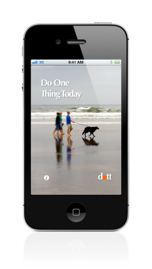 do one thing today app