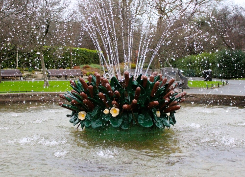 fountain in st stephen's green
