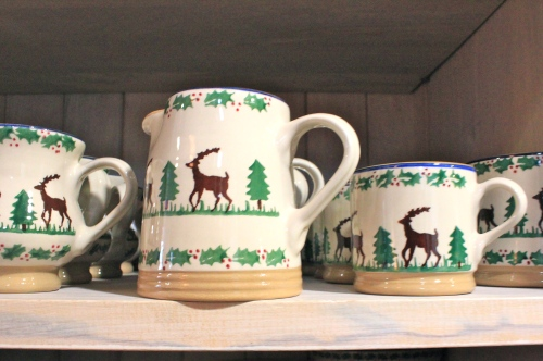 nicholas mosse christmas pottery