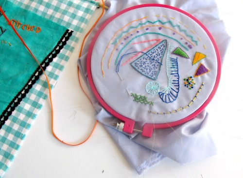 Creative Embroidery Class with Maria Tapper