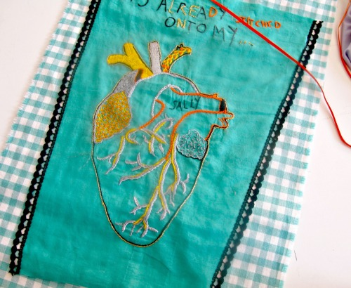 embroidery class with maria tapper