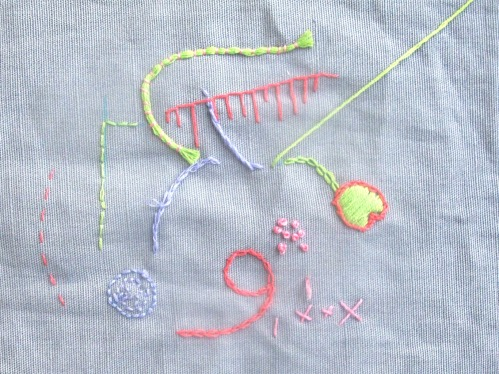 maria tapper embroidery class