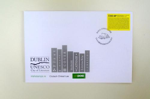 unesco city of literature stamp