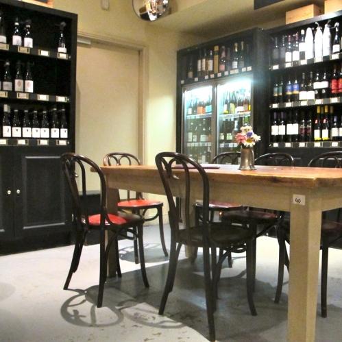 wine cellar at fallon & byrne