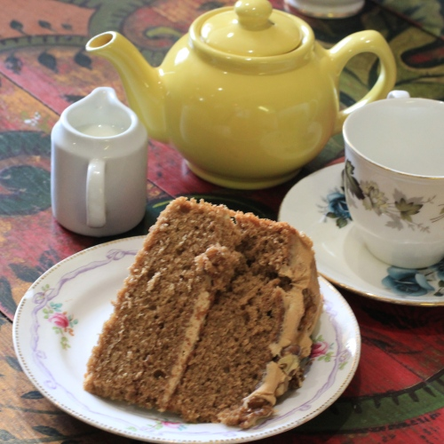 spelt coffee cake at kilver court
