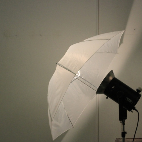 light in a studio