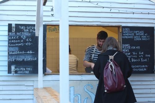 blackrock  market fish shop