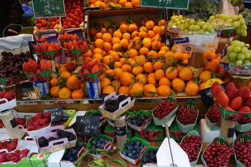fruit display paris